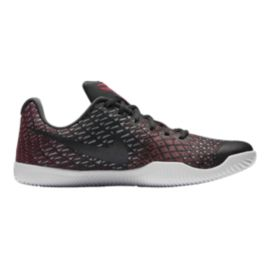 Nike Men's Kobe Mamba Instinct Basketball Shoes - Black/Red Pattern