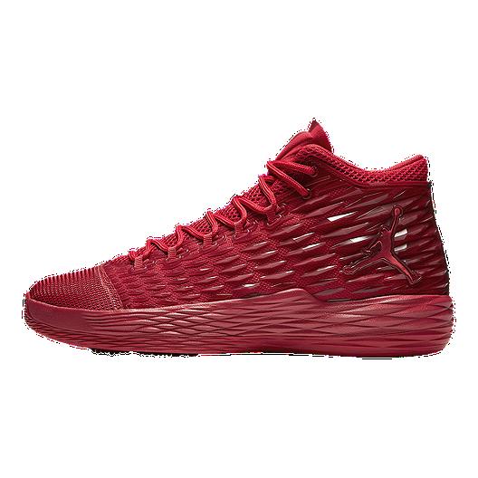 650a26299e22 Nike Men s Jordan Melo M13 Basketball Shoes - Red. (1). View Description