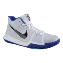 "Nike Men's Kyrie 3 ""Brotherhood"" Basketball Shoes - White/Blue"