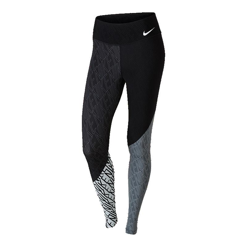 2a7e664f7ed5eb Nike Women's Legendary Midrise Engineered All Over Print Tights | Sport Chek