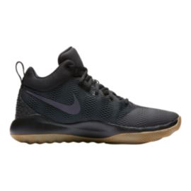 Nike Men's Zoom Rev 2017 Basketball Shoes - Black/Gum