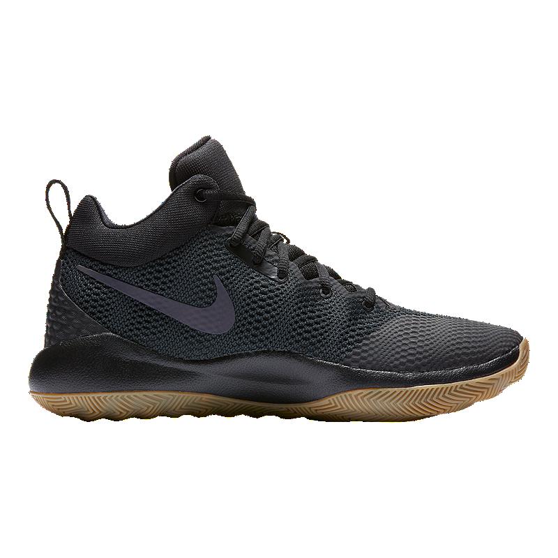 premium selection 86fdd be862 Nike Men s Zoom Rev 2017 Basketball Shoes - Black Gum   Sport Chek