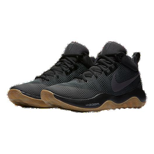 b401e95a77d3 Nike Men s Zoom Rev 2017 Basketball Shoes - Black Gum. (1). View Description