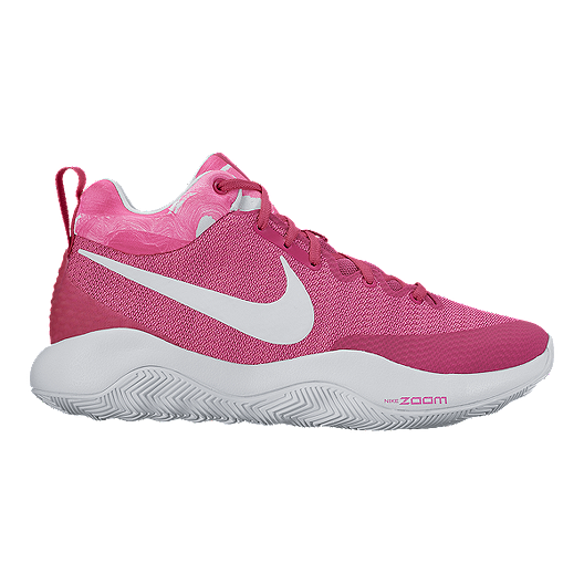 60ca0588f462 Nike Men s Zoom Rev 2017 Basketball Shoes - Pink White