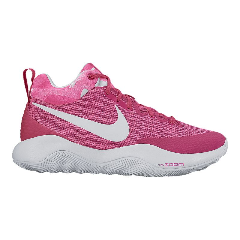 huge selection of 78698 5a12a ... inexpensive nike mens zoom rev 2017 basketball shoes pink white sport  chek 691c2 a7b0f