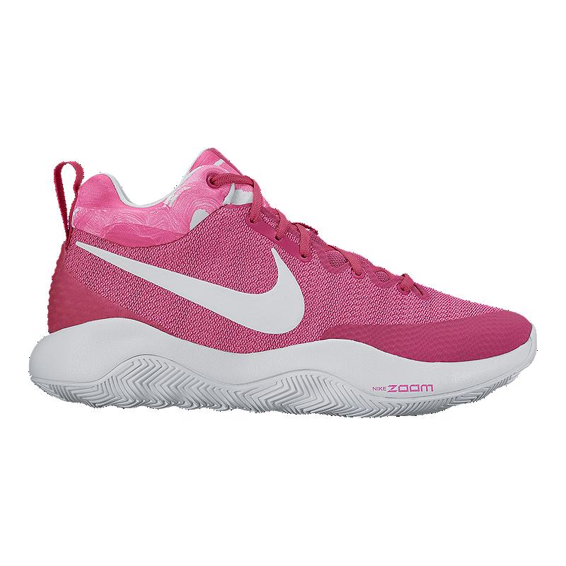 67e07c60c683 free shipping nike mens zoom rev 2017 basketball shoes pink white b6470  ba797