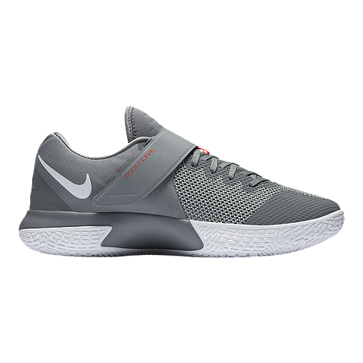 Nike Mens Zoom Live 2017 Basketball Shoes  Grey