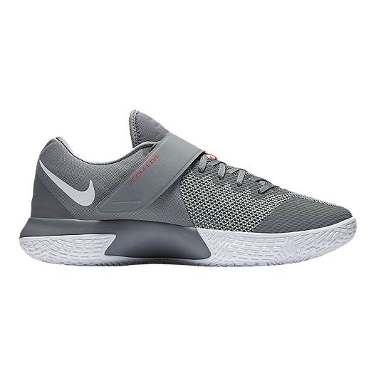 546d368c1882 Nike Men s Zoom Live 2017 Basketball Shoes - Grey