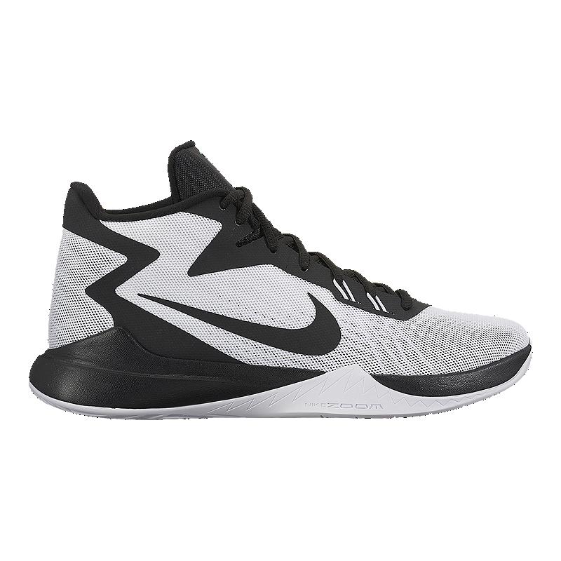 da06b8e6cb42 Nike Men s Zoom Evidence Basketball Shoes - White Black