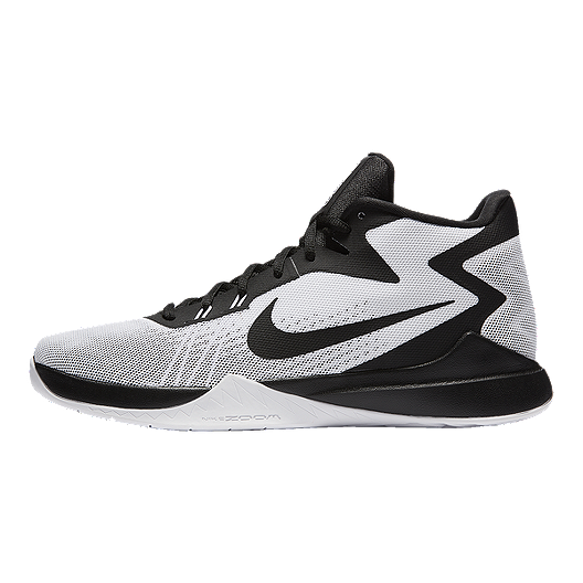 43af8e7edbb Nike Men s Zoom Evidence Basketball Shoes - White Black