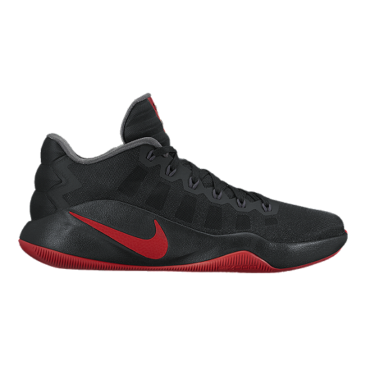 new products b63f9 a954f ... low price nike mens hyperdunk 2016 low basketball shoes black red 16a8e  1f4f9