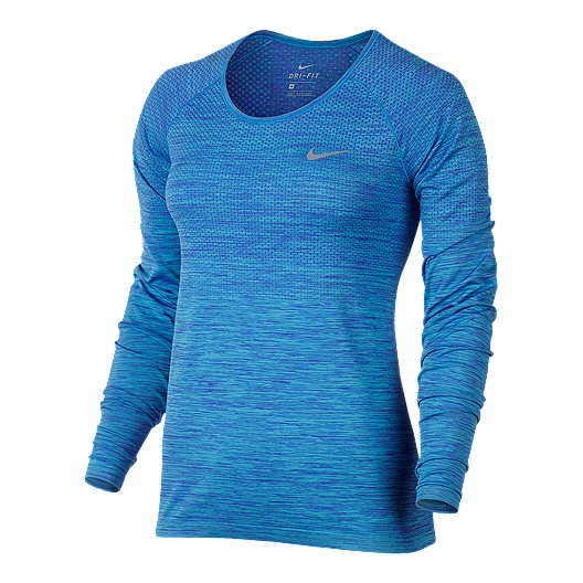 51e28911 Nike Women's Run Dri-FIT™ Knit Long Sleeve Shirt | Sport Chek