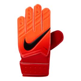 Nike Goalkeeper Junior Match Goalie Gloves - Red/Orange