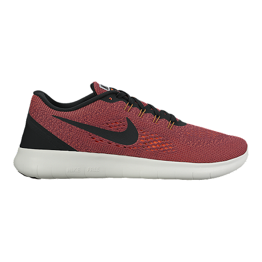 quality design 8b5f7 517ef Nike Men s Free RN 2016 Running Shoes - Red Orange Black   Sport Chek