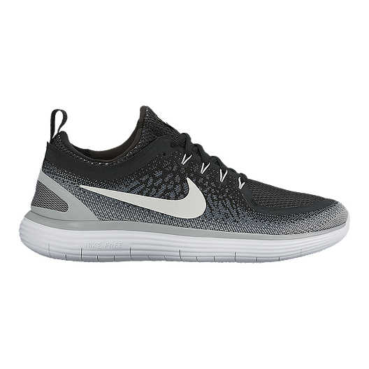 brand new 73308 d0411 Nike Men s Free RN Distance 2 Running Shoes - Black White   Sport Chek
