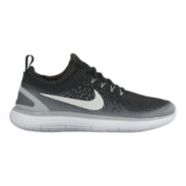 c68a4f17a8e Nike Men s Free RN Distance 2 Running Shoes - Black White