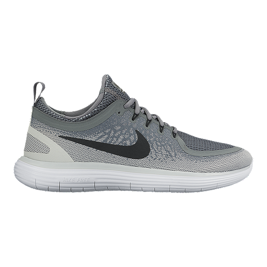 be60d673e9ed Nike Men s Free RN Distance 2 Running Shoes - Grey Black