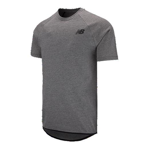 d5566b5896b71 New Balance Men's 247 Tech Short Sleeve T Shirt - BLACK - BK