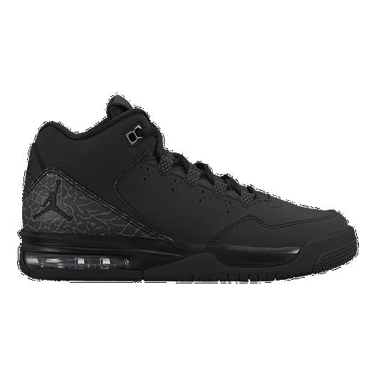 b916646b1bb Nike Jordan Kids  Flight Origin 2 Grade School Basketball Shoes -  Black Grey