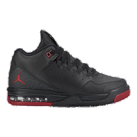 3fd05040c4b Nike Jordan Kids  Flight Origin 2 Grade School Basketball Shoes - Black Gym  Red