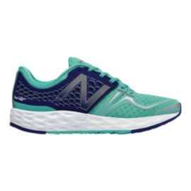 New Balance Women's Fresh Foam Vongo Running Shoes - Blue/Black/Lime