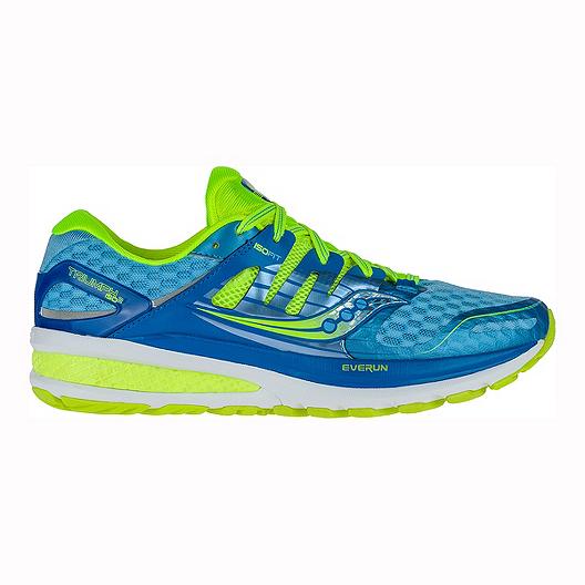 d945d0cbd49 Saucony Women s Triumph ISO 2 Running Shoes - Blue Lime Green ...
