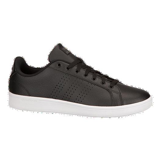 56b6f77b2 adidas Men s CloudFoam Advantage Shoes - Black White