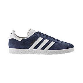 adidas Men s Gazelle Shoes - Navy White 953dcc334