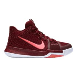 "Nike Kyrie 3 ""Team Red"" Kids' Grade School Basketball Shoes"