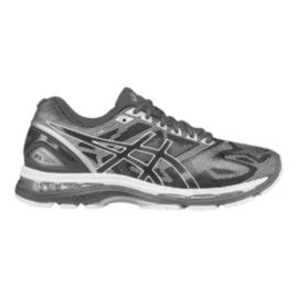 ASICS Men's Gel Nimbus 19 2E Wide Width Running Shoes - Grey Pattern