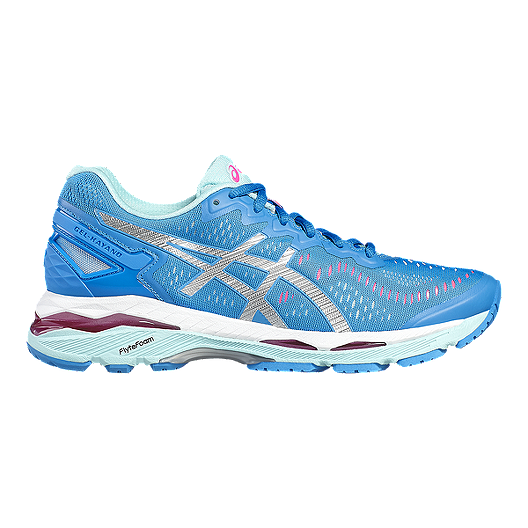 info for d3f86 569e3 ASICS Women's Gel Kayano 23 Running Shoes - Blue/Light Blue/Silver