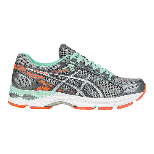 443ad90224e ASICS Women's Gel Exalt 3 Running Shoes - Silver Grey/Mint Green ...