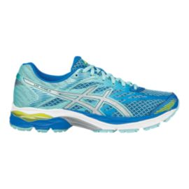 ASICS Women's Gel Flux 4 Running Shoes - Blue/Silver/Aqua Blue