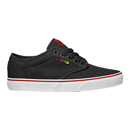 Vans Atwood Rasta Mens Skate Shoes  Dark GreyWhite
