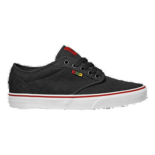 7fd8921800 Vans Atwood (Rasta) Men s Skate Shoes - Dark Grey White