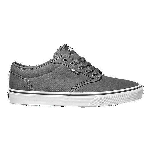 4dc96034e88f8e Vans Men s Atwood Lite (Canvas) Skate Shoes - Pewter White