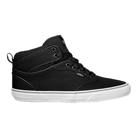 a13e0a92a5ac41 Vans Atwood HI (Canvas) Men s Skate Shoes - Black White