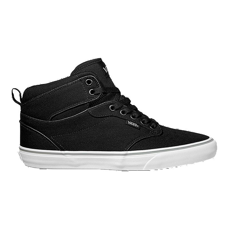 b5587707c1de Vans Atwood HI (Canvas) Men s Skate Shoes - Black White