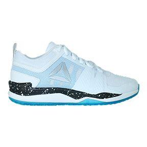 Reebok Kids  JJ One Grade School Training Shoes - White Black Blue 92cd8829a