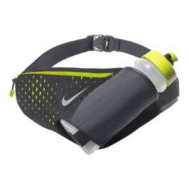 Nike Large 22 oz Botle Belt - Black/Volt