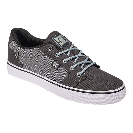 611adeb879 DC Men s Anvil TX SE Skate Shoes - Charcoal Grey