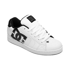 DC Men s Net Skate Shoes - White 870a934a8434f
