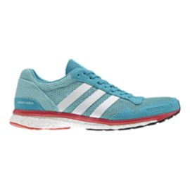adidas Women's Adizero Adios Running Shoes - Mint Blue/White/Red