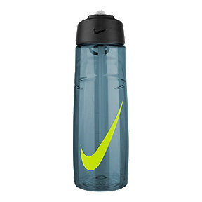 Nike 24 oz T1 Flow Swoosh Water Bottle - Blue/Volt