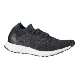 adidas Women's Ultra Boost Uncaged Running Shoes - Knit Black Pattern