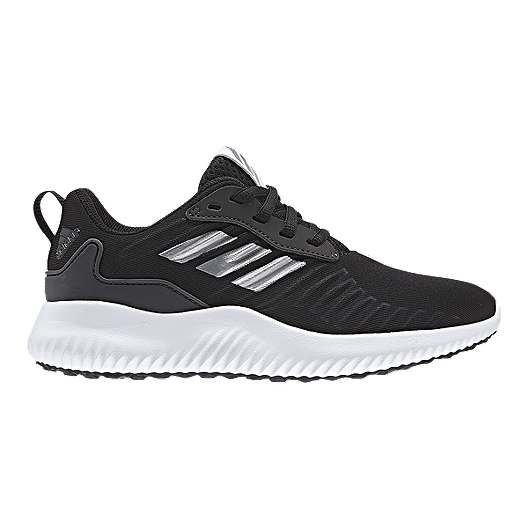 86679d983 adidas Kids  AlphaBounce RC Grade School Running Shoes - Black White ...