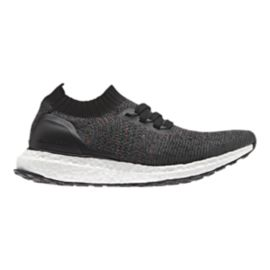 adidas Kids' UltraBoost Uncaged Grade School Running Shoes - Grey/Black