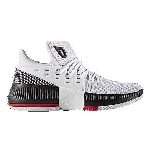 super popular 28da5 5f449 adidas Kids  Crazy Time Home Grade School Basketball Shoes - White Black Scarlet    Sport Chek