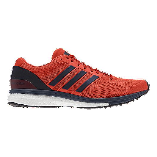pretty nice 306b7 a68c6 adidas Mens Adizero Boston 6 Running Shoes - OrangeNavy Blue  Sport Chek