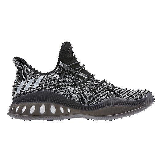 best sneakers abdf1 33eba adidas Men s Crazy Explosive Low Basketball Shoes - Black White Grey    Sport Chek